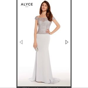 Alyce 27252 Strapless Gown with Removable Top